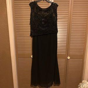 Elegant Black Embedded Dress